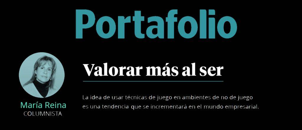 Diario Portafolio: Valorar más al ser