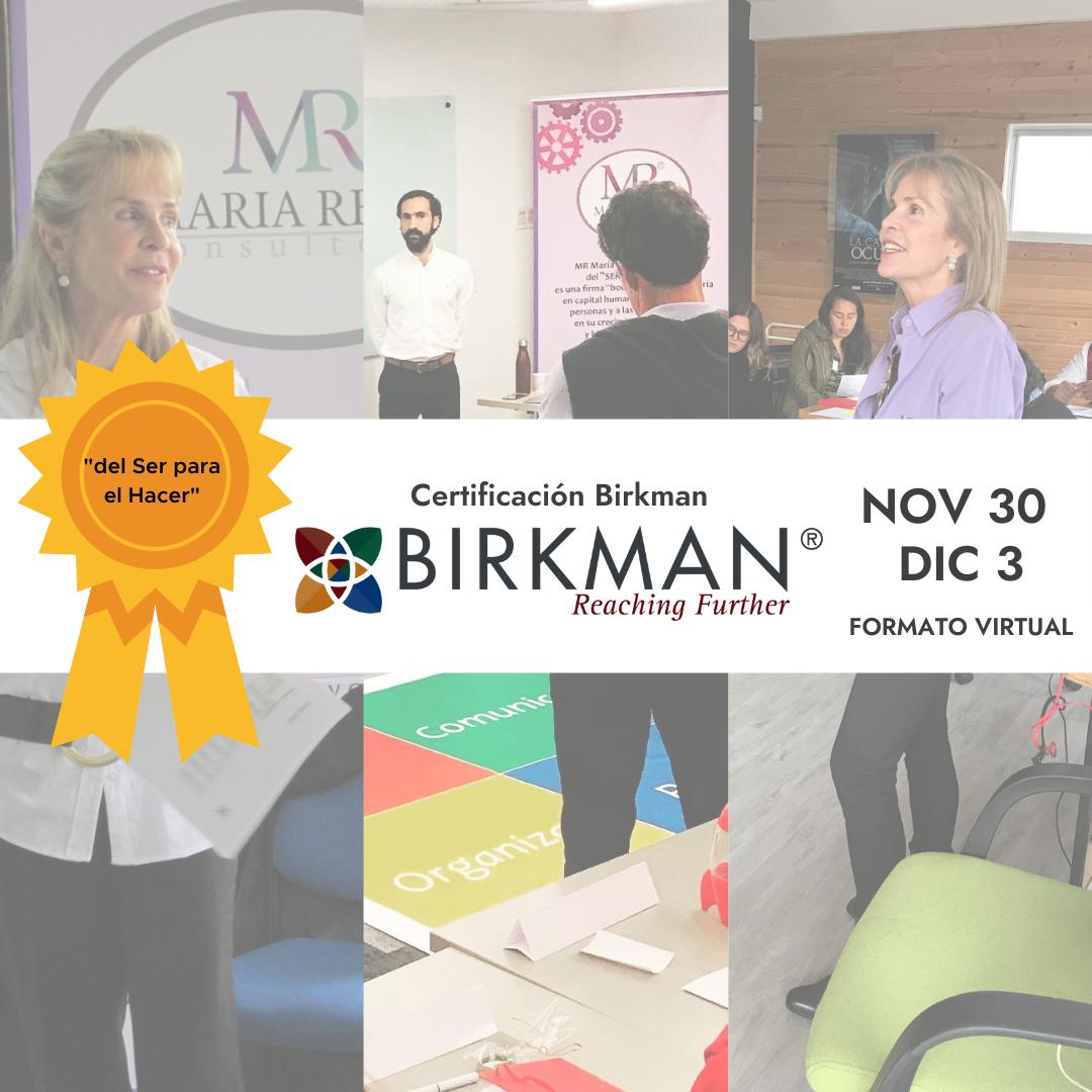 Certificación Birkman